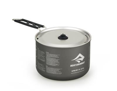 Alpha Pot 19 Litre Grey