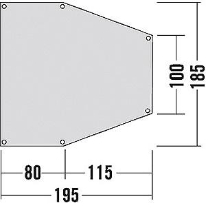 Apsidensheet 193x182