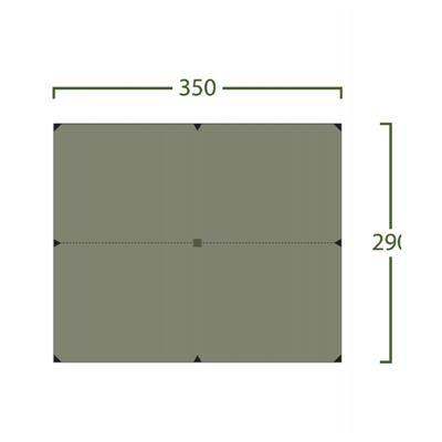 Bitihorn Superlight Tarp 35x29 green