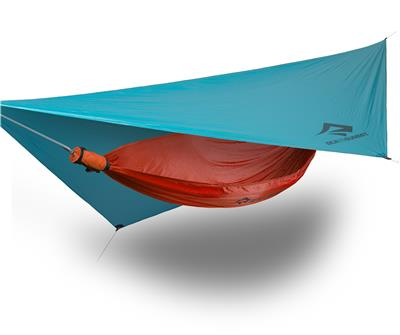 Hammock ultralight tarp 15D blue