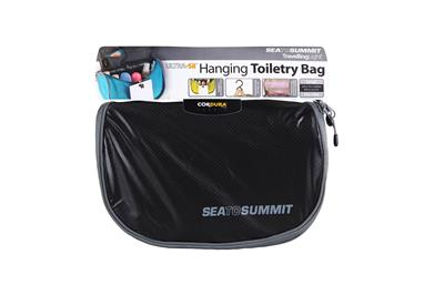 Hanging Toiletry Bag Small Black_Grey