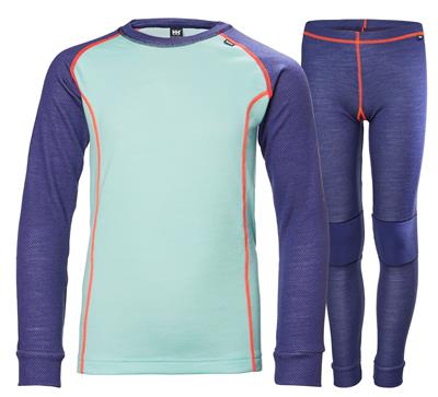 Helly Hansen Junior Merino skiundertøj