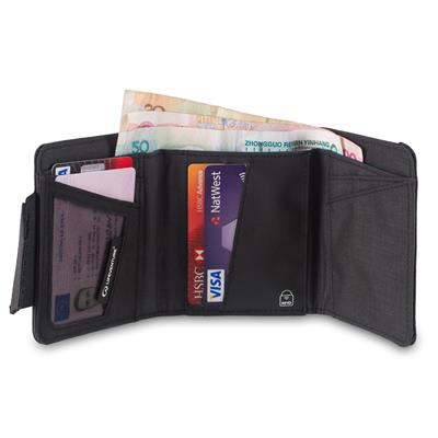 RFID Protected Tri Fold Wallet