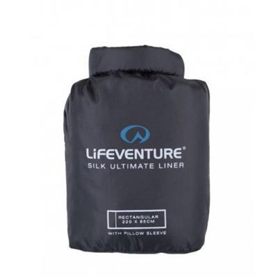 Silk Ultimate Sleeping Bag Liner  Rektangulær