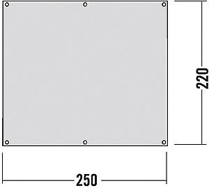 Zeltunterl 220x250